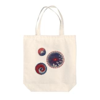【日本レトロ#15】和傘 Tote bags