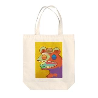 荒巻さんと鮭さん Tote bags