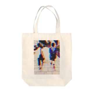 あいうえお Tote bags