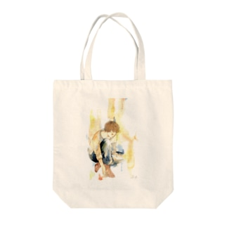 「letter」 Tote bags