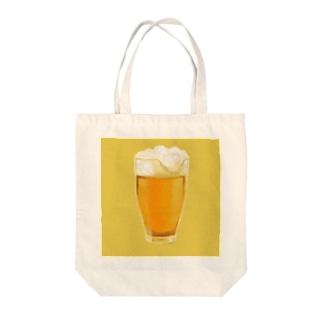 おビール Tote bags