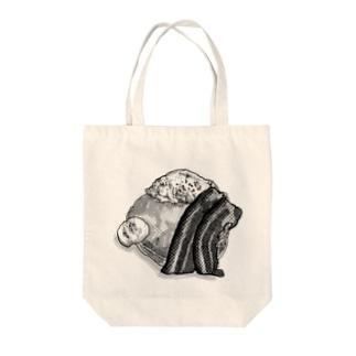 パンケーキの絵 Tote bags