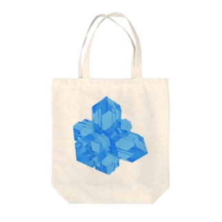 灰十字沸石(青) Tote bags
