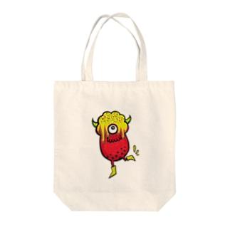 わくわくモフィン Tote bags