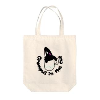 コップのシャチ子 Tote bags