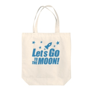 Let's go to the Moon! Tote bags