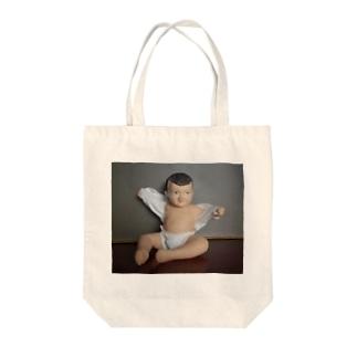 愛しき我が子 Tote bags
