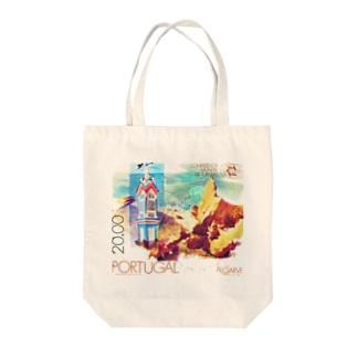 ポルトガルの切手:アルガルヴェ Tote bags