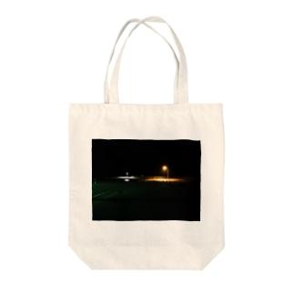 寂しげな風景 Tote bags