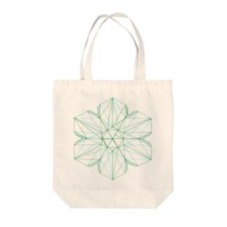 金緑石(3Dデータ) Tote bags