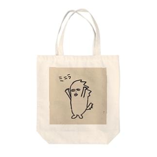 ミニラ Tote bags