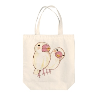 ブンチョウ Tote bags