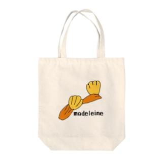 マドレーヌ Tote bags