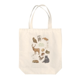 Wild animal japan Tote bags