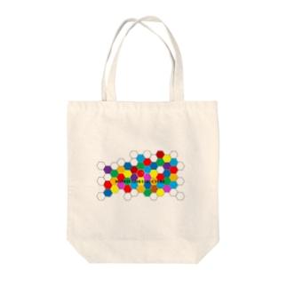 ハニカム Tote bags