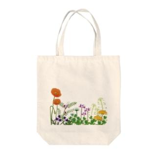 野の花 Tote bags