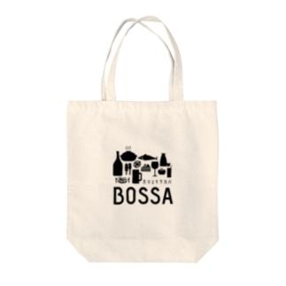 ガマエキサカバBOSSA Tote bags
