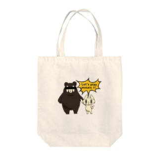 Let's play mosaic !! Tote bags