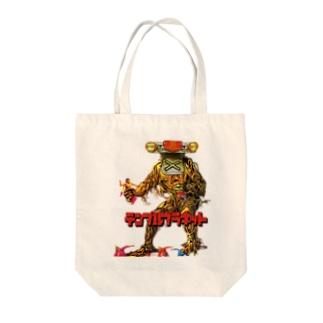 エキセントリックバード(テンプルプラネット) Tote bags
