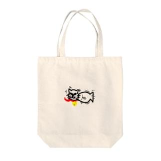 魚にゃん(さかにゃん) Tote bags