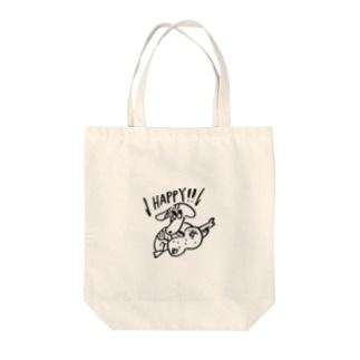happy犬 Tote bags