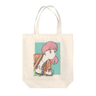 SYARAKU GIRL Tote bags