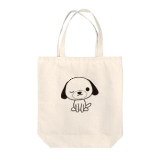 いぬのマリー Tote bags