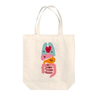 臓器だZOU(顔アリ版) Tote bags