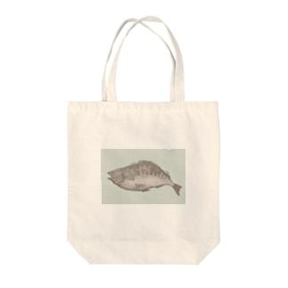 魚A(カラー) Tote bags