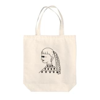 サングラスの女 Tote bags