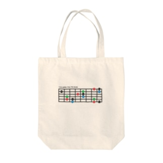 I love 7th chords Tote bags