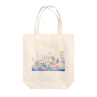 試験管の憂鬱 Tote bags
