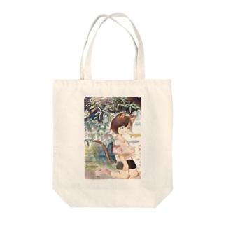 ウオウオフィッシュライフ Tote bags