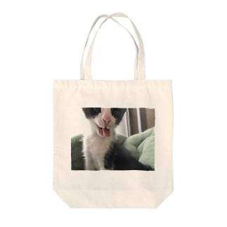 まんた幼少期(化物ver) Tote bags