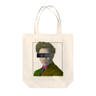 old thousand man Tote bags