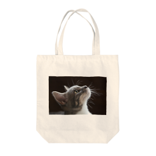 Aiko Nakanoの雨の朝、仔猫の瞳を通せば何でも新鮮。 Tote bags