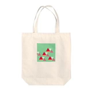 山かスイカ Tote bags
