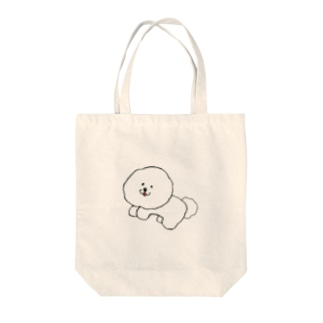 Be with ビション Tote bags