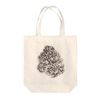 睡蓮の池 Tote bags