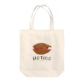 ホットドッグ のらしおん Tote bags