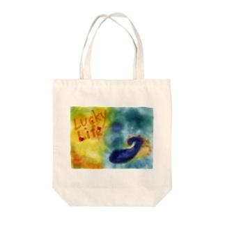 海の生物 Tote bags