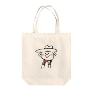 カウボーイ Tote bags