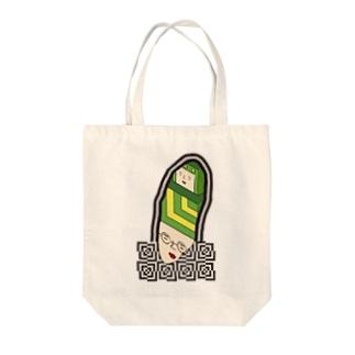 続⚫不思議な感じ Tote bags