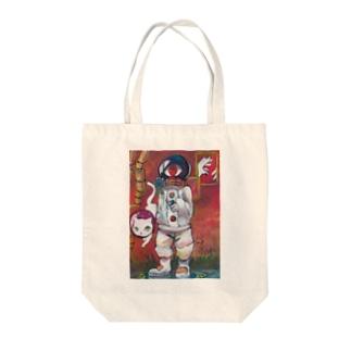 ヲメガ Tote bags