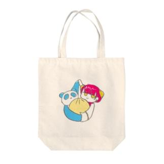 中華まん Tote bags
