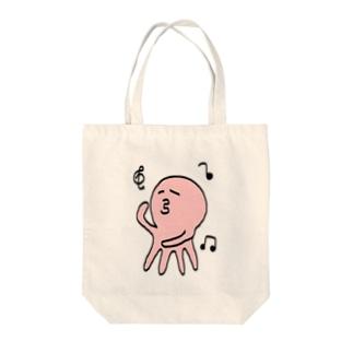たこちん Tote bags