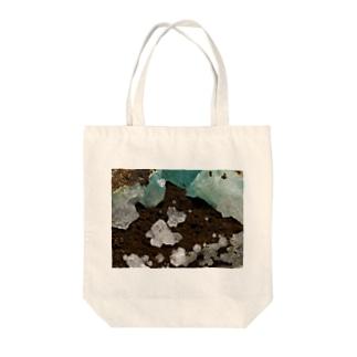 灰十字沸石(3軸双晶) Tote bags