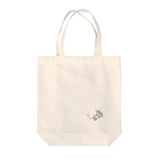 夢見る柴犬 Tote bags