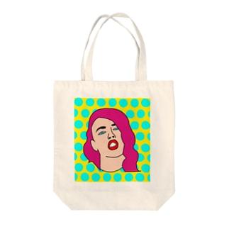 ポップアート Tote bags