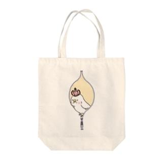 鳥胸 Tote bags